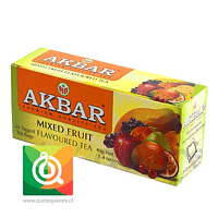 Akbar Té Negro Mix de Frutas
