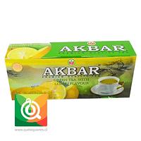 Akbar Té Verde Limón