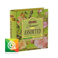 Basilur Libro de Té Surtido Verde - Bouquet Assorted Tea Book