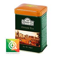 Ahmad Té Negro Ceylon Lata