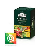 Ahmad Té Negro Fruit Selection. Surtido Frutas