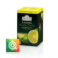 Ahmad Té Negro  Limón y Lima - Lemon & Lime Twist