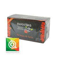 Sweetea Té negro Stevia 20 bolsitas