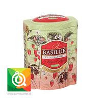 Basilur Lata Té Verde Frutilla Salvaje - Magic Fruit Wild Strawberry