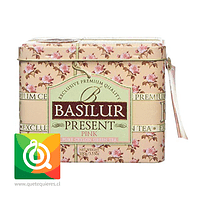 Basilur Lata Blend Té Verde frutos y Flores - Present Pink