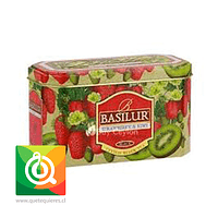 Basilur Lata Té Negro Frutilla y Kiwi - Magic Fruit Strawberry & Kiwi