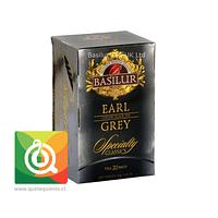 Basilur Té Negro Earl Grey  - Specialty Classic 20 bolsitas