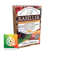 Basilur Surtido de Infusiones Frutales - Fruit, Flowe & Herbs Fruit Infusión vol. 1