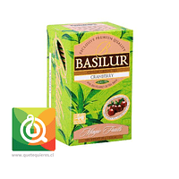 Basilur Té Verde Cranberry   - Magic Fruit Arandano Rojo 20 bolsitas