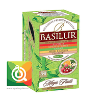 Basilur Té Verde Surtido Sabores - Magic Fruit Assorted Green Fruit