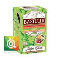 Basilur Té Verde Surtido Sabores - Magic Fruit Assorted Green Fruit