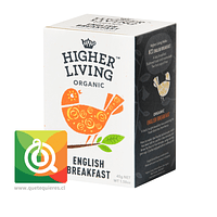 Higher Living Té Orgánico English Breakfast