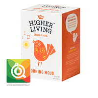 Higher Living Infusión Orgánica Energizante- Organic Morning Mojo