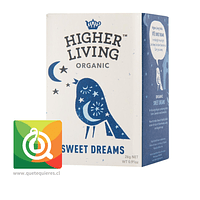 Higher Living Infusión Orgánica Dulces Sueños- Organic Sweet Dream