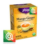 Yogi Infusión de Hierbas Mango Jengibre Orgánico