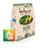 Bitaco Té Verde Orgánico 15 piramidales