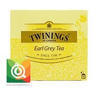 Twinings Té Negro Earl Grey 50 x 2 gr