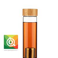 Kikkerland Botella Infusora Para Té y Hierbas - Tea Infuser Bottle
