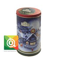 Té Ahmad Lata Tea Magic Earl Grey - Carrusel Musical (Azúl) 80 gr