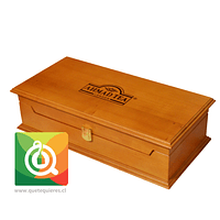 Caja de Madera - Presentador de Madera Incluye 100 bolsitas