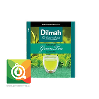 Té Dilmah Pure Green Tea - Té Verde Natural
