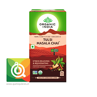Organic India Tulsi Masala Chai - Infusión Orgánica Tulsi Masala Chai