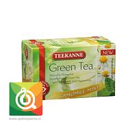 Teekanne Green Tea Decaf - Té Verde Descafeinado Mazanilla y Menta