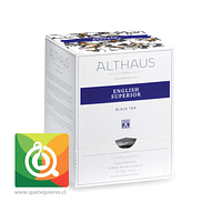 Althaus Té Negro English Superior 15 Pirámides