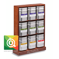 Althaus Caja de Madera - Presentador Latas Llena