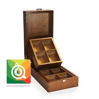 Althaus Caja de Madera - Presentador de Té Vacía