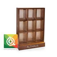 Althaus Caja de Madera - Presentador Pirámides Vacía