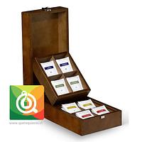 Althaus Caja de Madera - Presentador de Té Llena