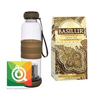 Botella Infusora Vidrio + Masala Chai Basilur