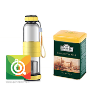 Botella Infusora Vidrio + Lata English N° 1 Ahmad