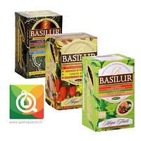 Colección Assorted Basilur, Negro + Verde + Oriental