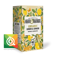 Heath & Heather Infusión Orgánica Limón y Jengibre - H & H Organic Lemon & Ginger