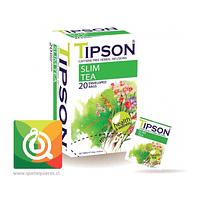 TIPSON SLIM TEA - Té Verde y hierbas 20 bolsitas