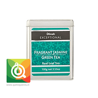 Dilmah Té Fragant Jasmine and Green Tea Lata 100gr