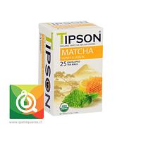 TIPSON MATCHA HONEY LEMON - Matcha Miel y Limón 25 bolsitas
