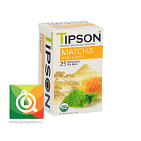 Tipson Té Matcha Orgánica Honey Lemon - Miel y Limón