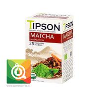 Tipson Tea Matcha Chai - Té Matcha Chai Orgánico Especiado