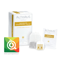 Althaus Infusión Rooibush Strawberry Cream 20 bolsitas