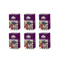 Ahmad Infusión Mix Berries Frutos Rojos Hibisco Pack 6