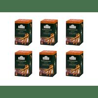 Ahmad Té Negro Canela - Cinnamon Haze Pack 6