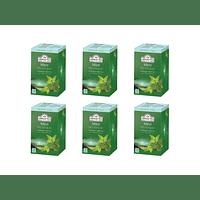 Ahmad Té Verde Menta 20 bolsitas Pack 6