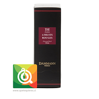 Dammann Té Negro 4 Frutos Rojos - 4 Fruits Rouges 24 Sachets