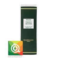 Dammann Infusión Menta - Tilleul Menthe / Lime Blossom Mint 24 Sachets