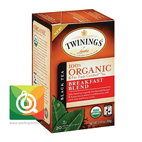 Twinings Té negro Breakfast Blend Orgánico
