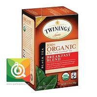 Twinings Té negro Breakfast Blend Orgánico