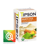 Tipson Matcha Cinnamon Ginger - Té Matcha Orgánico Canela y Jengibre
